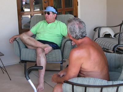 Glenn and Bob