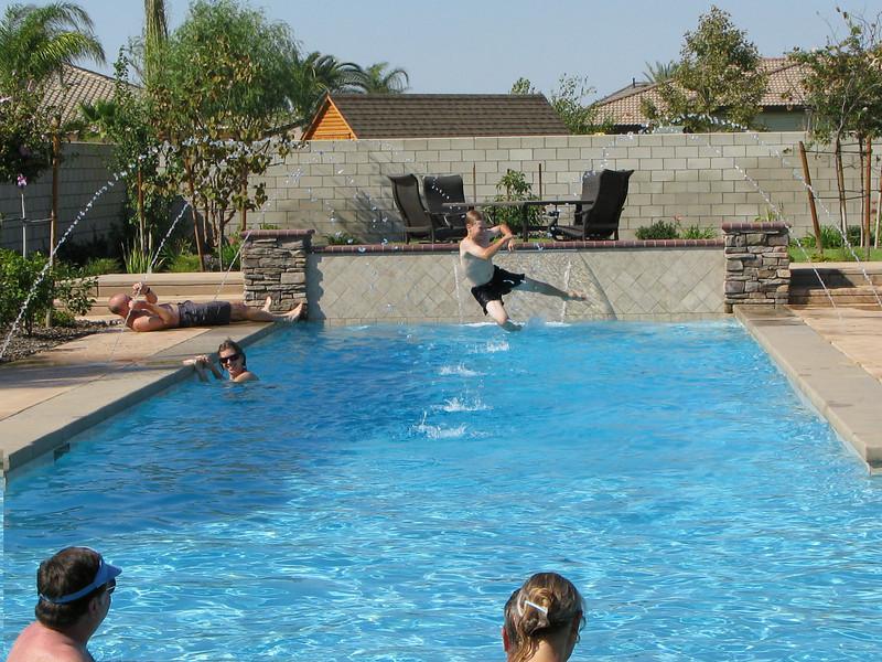 Matthew jumping in