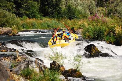Rogue River Half-Day Rafting Trip