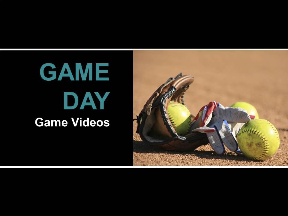 game day softball