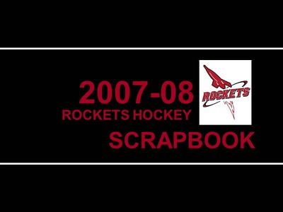 2007-2008 JML Hockey Scrapbook Cover