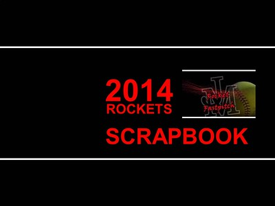 2014 Rocket Softball Cover page