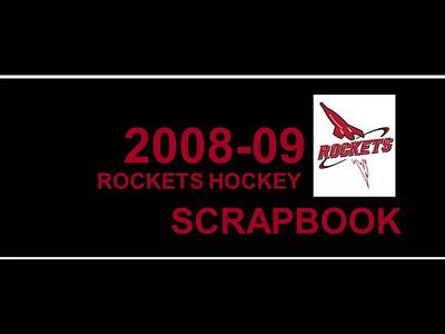 2008-2009 JML Hockey Scrapbook Cover