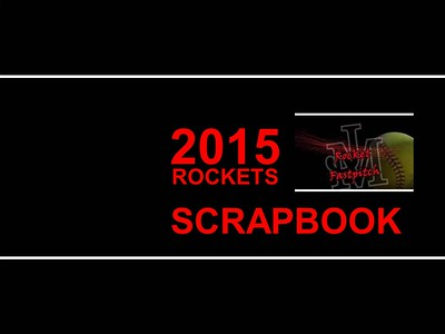 2015 Rocket Softball Cover page