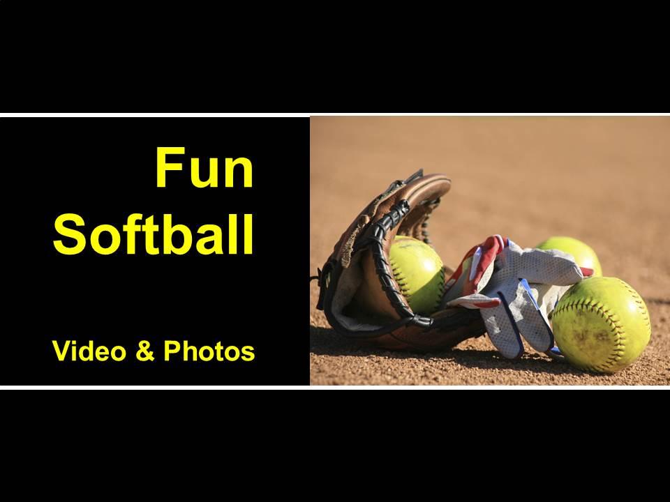 fun softball