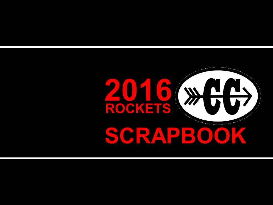 2016 Cross Country Scapbook