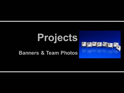 Team Posters and Banners