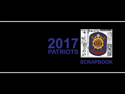 Scrapbook - 2017 Patriots Baseball