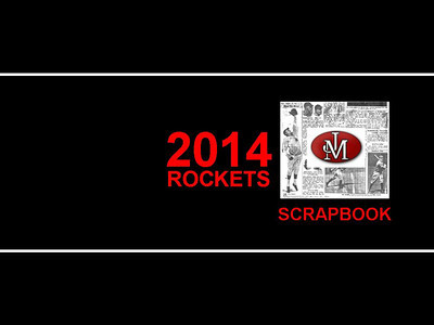 2014 JM Rocket Baseball Scrapbook