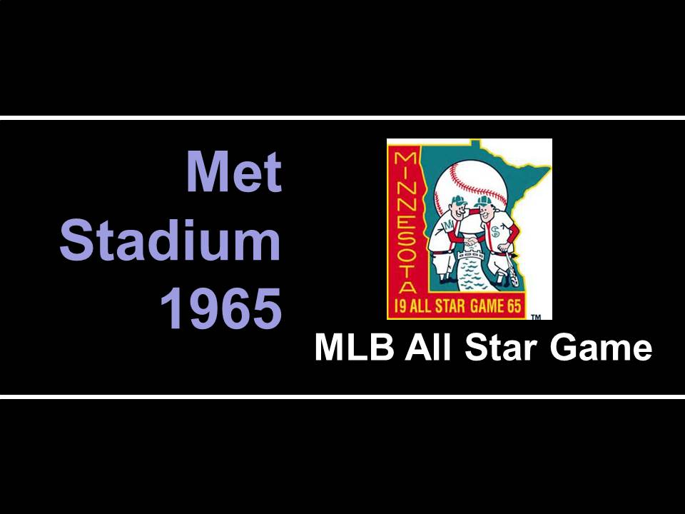1965 mlb all star game