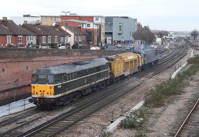 31190 Eastleigh 13/12/13 on the rear of 6Z43 Totton Yard to Eastleigh
