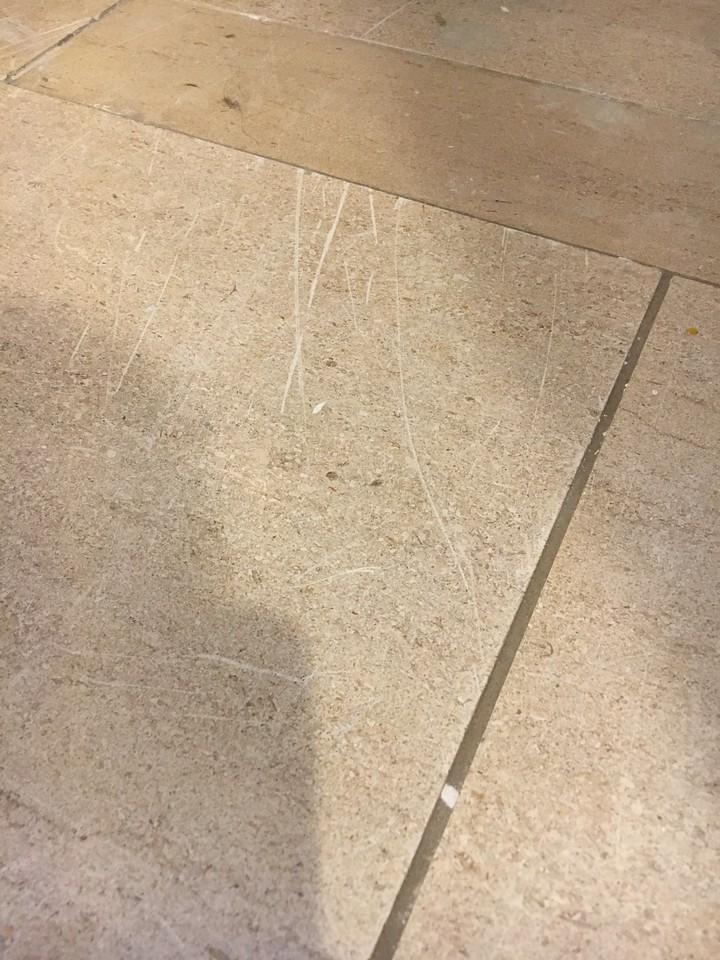 Kitchen - Scratches on Floor 4 of 9