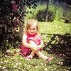 Scarlett in Flowers