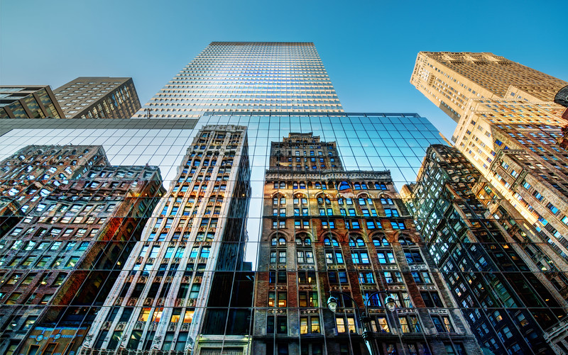 "02 - Trey Ratcliff - ""inception reflection new york"""