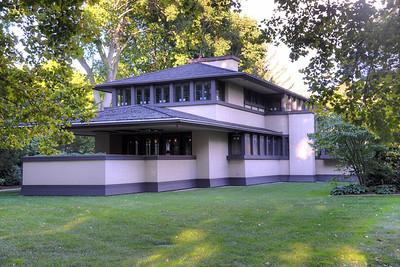 16 East Blvd, Edward Boynton House, Frank Lloyd Wright, Architect, Built 1908, Rehabilitated 2010-2012