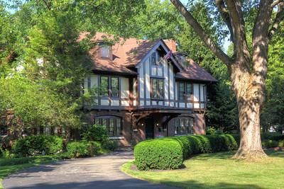 1316 East Avenue, Home of M. Herbert and Elsa Bausch Eisenhart