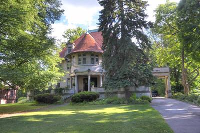 947 East Ave, home of R. Frank Ritter (founder of Ritter Dental)