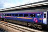 FGW's Trailer Second 42356 (ex 12003/42002/41173) was built in 1972 and was formerly part of the prototype HST set. It is easily distinguished from later HST coaches by not having silver window surrounds. Pictured at Reading on 29th May 2006.