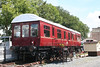 TDM 395279 was built for the LMS (no. 30088) in 1936 as a Restaurant Car. It later became an instruction coach and subsequently an inspection saloon. Preserved in 1988, it now serves as a holiday home at Titley Junction station, Herefordshire. 8th July 2007.