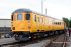 Network Rail's former Anglia DBSO no. 9703 at Tyseley on 28th June 2008. The coach was originally built in 1974 as Mk2f BSO no. 9517.