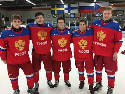 """Нападающий команды """"Трактор"""" 2000-го года рождения Григорий Несветаев рассказал в интервью 74hockey.ru о """"Турнире четырех наций"""", который проходил в Швеции с 12 по 14 февраля."""