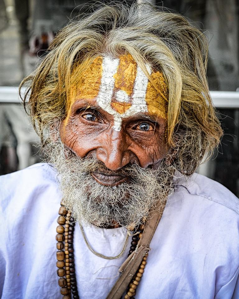 Indian sadhu (holy man) in Udaipur