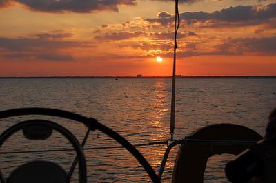 Sailing, July 2010