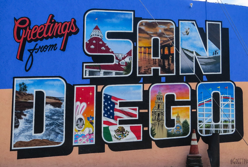 New mural for San Diego