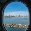 View from our porthole