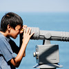 Boy and Telescope