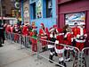 Santa Run, Philadelphia, PA.  07 Dec 2013.