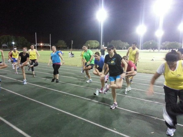 Second Speed Training Session at Central Park
