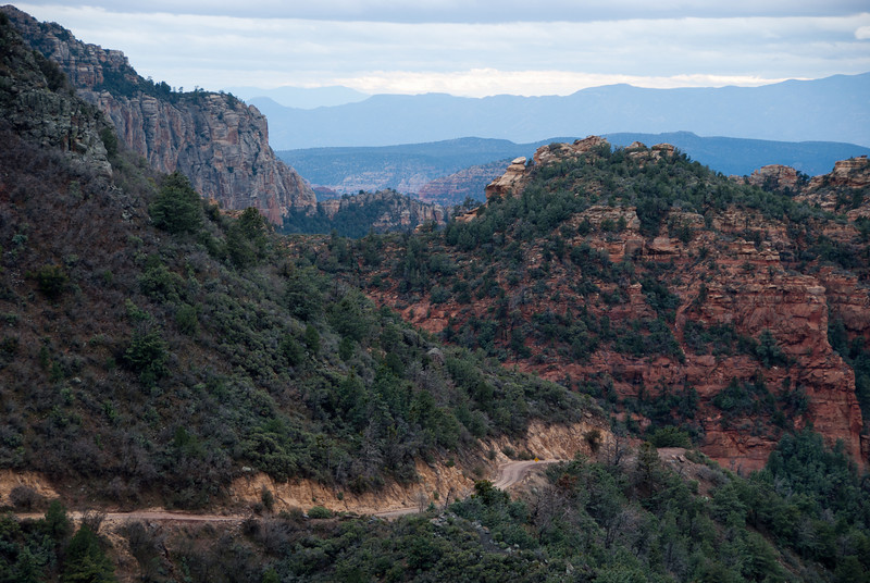 "<span id=""title"">Schnebly Hill Road</span> Nice view off into the distance from the vista point."
