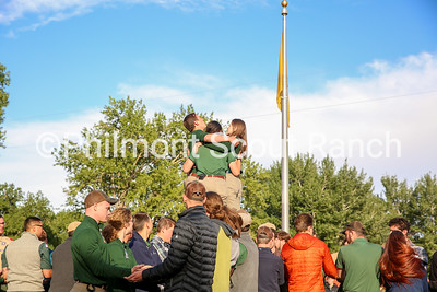 Philmont staff members kick off the 2019 season with the bell-ringing ceremony