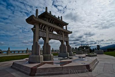 At SkyLawn Memorial Cemetery