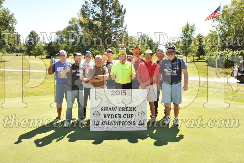 Shaw Creek Ryder Cup 09-13-15