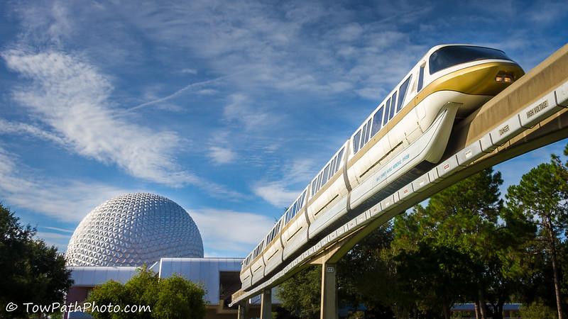Monorail & Spaceship Earth
