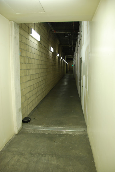 Incredibly creepy hallway in the Little Tokyo mall