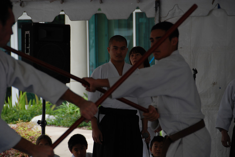Staff demonstration