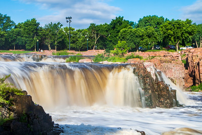 Falls Park at Sioux Falls, South Dakota
