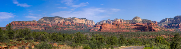 Views of the Red Rock Secret Mountain Wilderness in Sedona