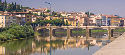 Florence - the Arno river.