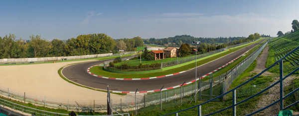 F1 race track in Imola, Italy