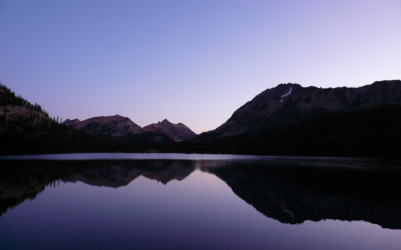 Edna Lake, Sawtooth Mountains, Idaho, USA, August 12, 2011