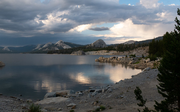 Courtright Reservoir, Sierra National Forest, California.  July 27, 2018.