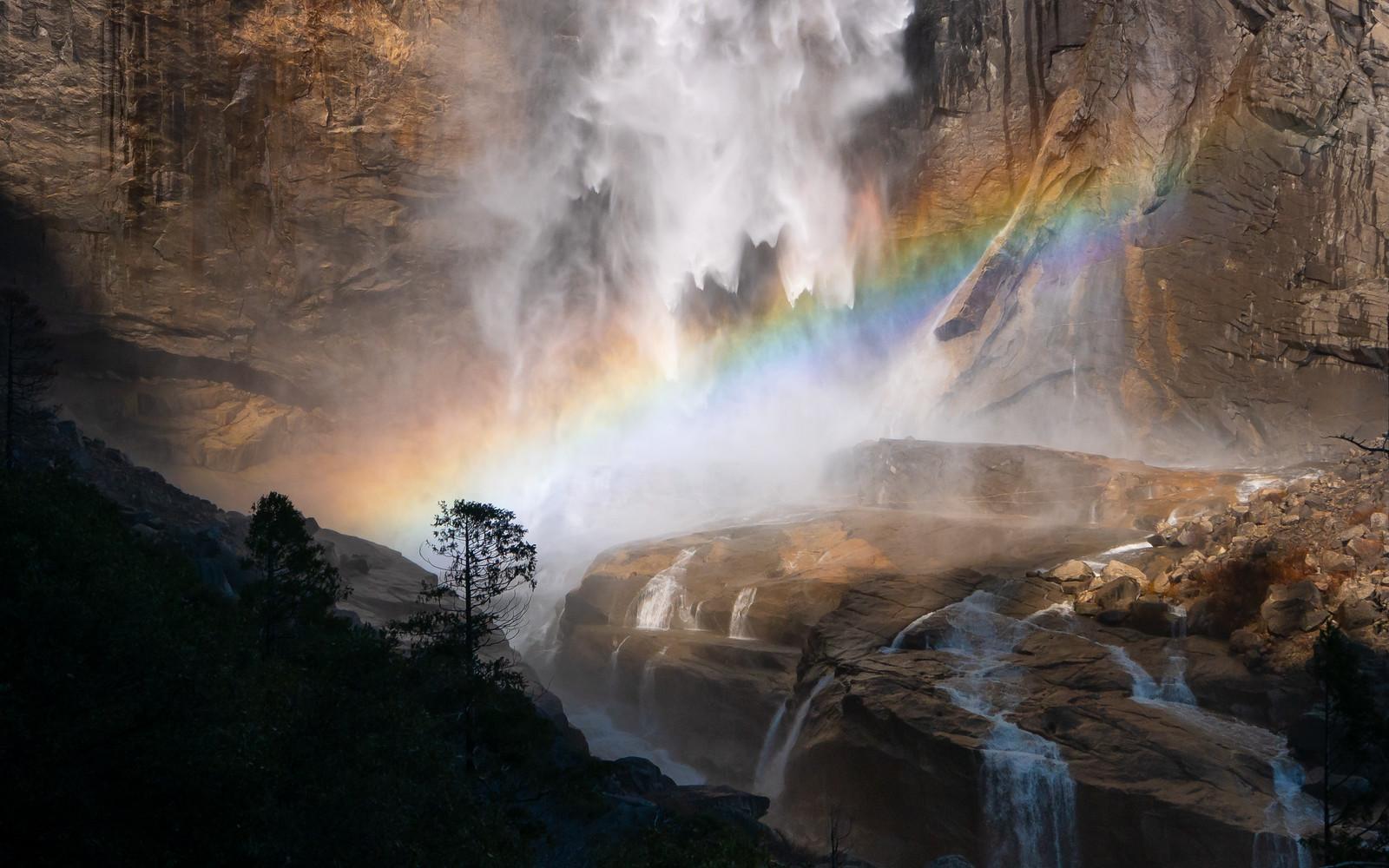 Upper Yosemite Falls, Yosemite National Park, California, February 18, 2015