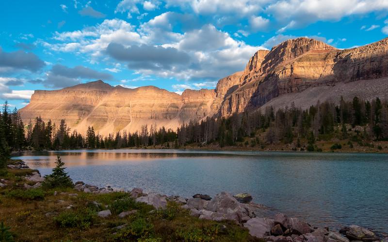 Deadhorse Lake, High Uintas Wilderness, Utah, USA, September 6, 2013