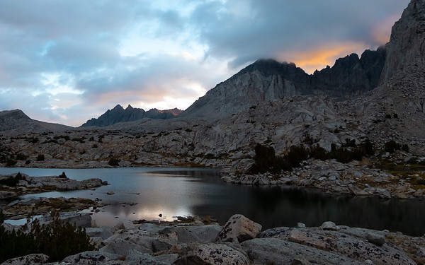 Dusy Basin, Kings Canyon National Park, California, USA, August 31, 2012