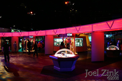 Star Trek: The Tour's floor