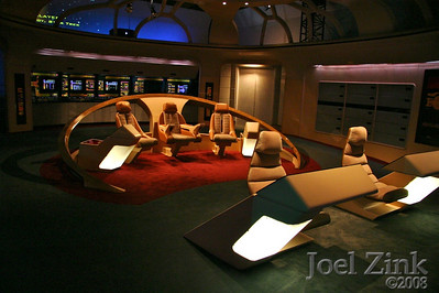 The bridge of the Enterprise D